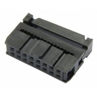 IDC Female Connector 2x8 Pin