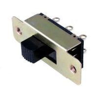 Slide Switch DPDT On-Off-On (3A/250VAC)