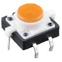 LED Tactile Button - Orange