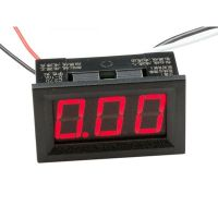Panel Current Meter - 0 to 9.99A