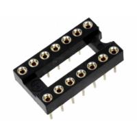 Dip Socket 14 Pin Gold