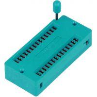 ZIF Socket 28 pin (15.24mm)