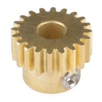 Gear - Pinion Gear (20T, 6mm Bore)