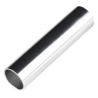 """Aluminum Tube 1.0""""OD x 3.0""""L"""
