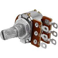 Potentiometer Linear B100Kohm Stereo - D6mm H9mm (Solder Lugs)
