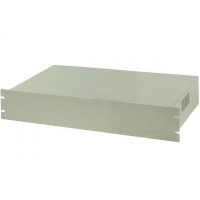 "Enclosure for 19"" Rack 2U 482x250x88mm Grey"