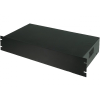 "Enclosure for 19"" Rack 2U 482x25088mm Black"