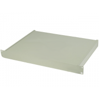 "Enclosure for 19"" Rack 1U 482x350x44mm Grey"