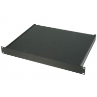 "Enclosure for 19"" Rack 1U 482x350x44mm Black"