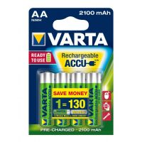 Battery Varta Rechargeable 1.2V AA 2100mAh (4pack)