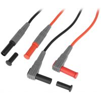 Test Leads Silicone Red/Black 1m
