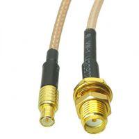 MCX Plug to SMA Female Adapter - 15cm