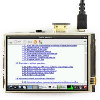 "Pi Display 3.5"" HDMI 480x320 IPS Resistive Touchscreen"