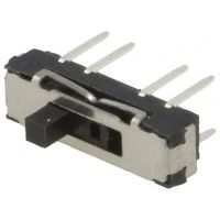 Slide Switch DP3T OFF-ON-ON 0.3A/6VDC