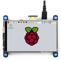 "Pi Display 4"" HDMI 800x480 IPS Resistive Touchscreen"