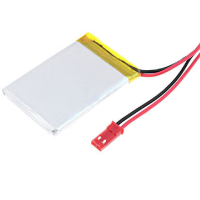 Polymer Lithium Ion Battery - 3.7v 40mAh