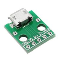 microB USB Breakout Board
