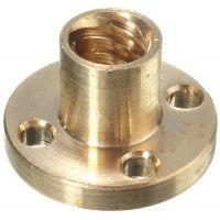 Nut for Lead Screw T10 Lead 8mm (Brass)