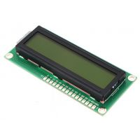Display 16x2 Character LCD - 3.3V Yellow