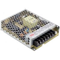 Power Supply Industrial 24V 4.5A 108W MeanWell - LRS-100-24