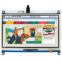 "Pi Display 7"" HDMI 1024x600 Resistive Touchscreen"