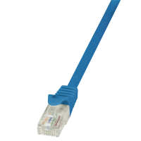 Patch UTP Cable 0.25m Blue