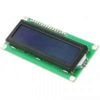 Display 16x2 Character LCD - 3.3V Blue