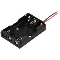 Battery Holder 3xΑΑA - with Wires