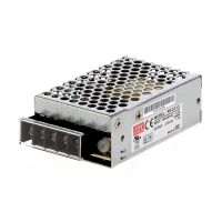 Power Supply Industrial 15V 1.7A 25.5W MeanWell - RS-25-15