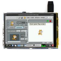 "Pi Display 3.5"" 480x320 IPS Resistive Touchscreen"