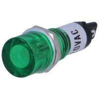 Neon Lamp Indicator 230VAC - 10mm Green