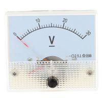 Panel Voltage Meter 60x60 0-30V
