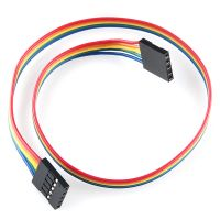 Jumper Wires 5-Pin 30cm Female to Female - Pack of 10
