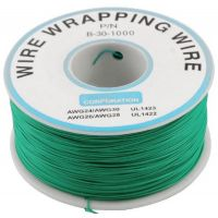 Single Core Wire Wrapping Wire 30AWG / 0.051mm2 - Green (1000FT/305M)