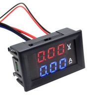 Panel Volt & Current Meter - 0-100V / 0-10A