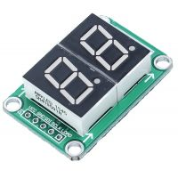 Display Module 7-Segment 2 Digit with 74HC595