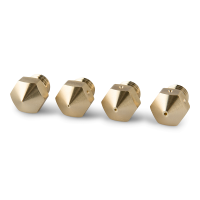PrimaCreator MK10 Mixed Size Brass Nozzle - 4pcs