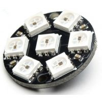 LED Disk - 7 x WS2812 5050 RGB
