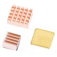 Raspberry Pi Heatsink - Copper/Aluminium (Set of 3)