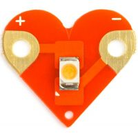 Sewable Heart LEDs (Pack of 4)