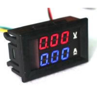 Panel Volt & Current Meter - 0-100V / 0-100A