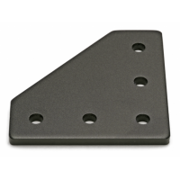 Joining Plate - 90 Degree - Black Anodized
