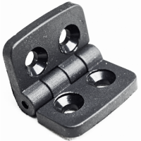 Hinge - Black for Aluminium Profiles