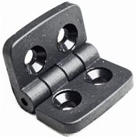 Hinge - Black for Aluminium Profiles