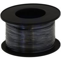 Hook-up Stranded Wire 28AWG / 0.081mm2 - Black 27m
