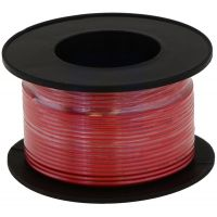 Hook-up Stranded Wire 28AWG / 0.081mm2 - Red 27m