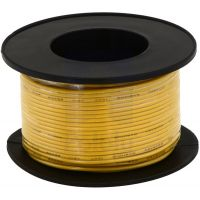 Hook-up Stranded Wire 20AWG / 0.52mm2 - Yellow 12m