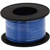 Hook-up Stranded Wire 28AWG / 0.081mm2 - Blue 27m