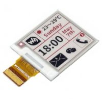 "Pi Display e-Paper 1.54"" 200x200 (Black-White-Red)"