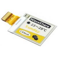 "Pi Display e-Paper 1.54"" 152x152 (Black-White-Yellow)"